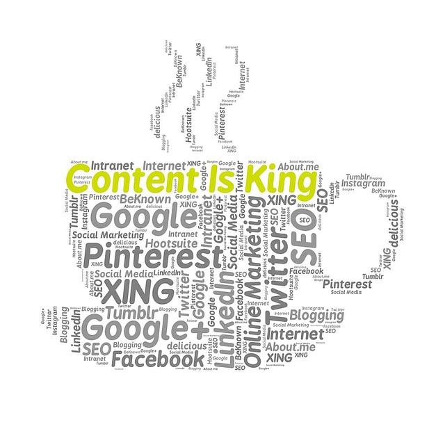 contenu et referencement