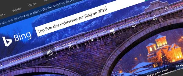 top recherche bing 2016