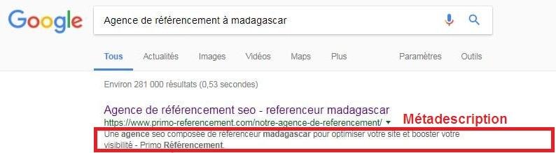 agence référencement à madagascar